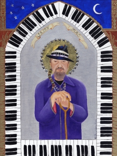 Saint Mac (Dr. John) limited edition fine art print
